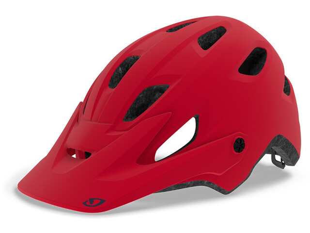 Giro Cartelle MIPS Casque Femme, matte dark red/split